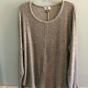 Old Navy ribbed knit sweater